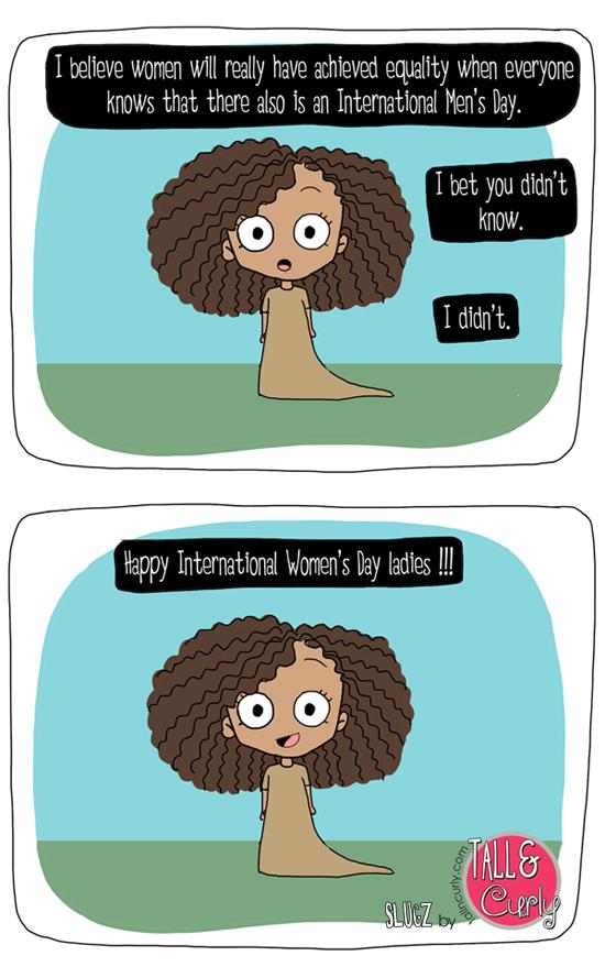 Tall N Curly - Slugz - International Women's Day