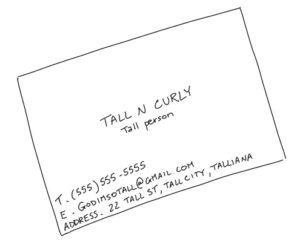 Tall N Curly - I'm tall... now wat?