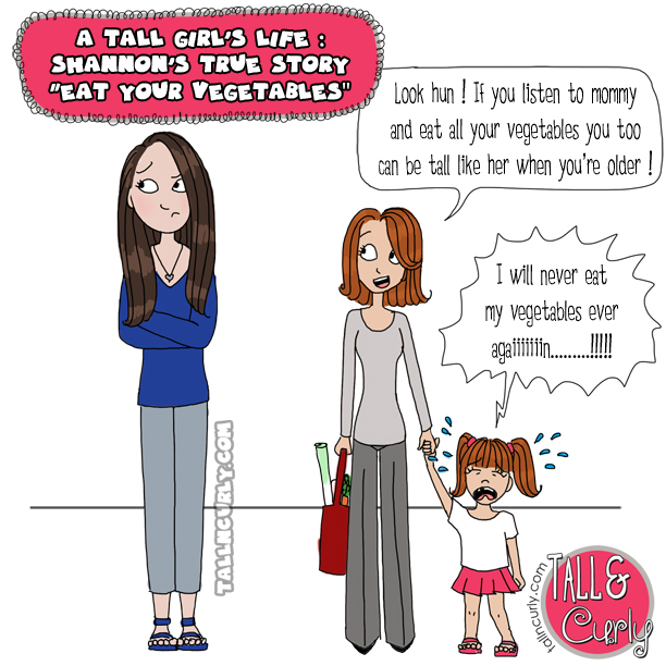 Tall N Curly - True stories series / A Tall girl's life - Shannon's true story