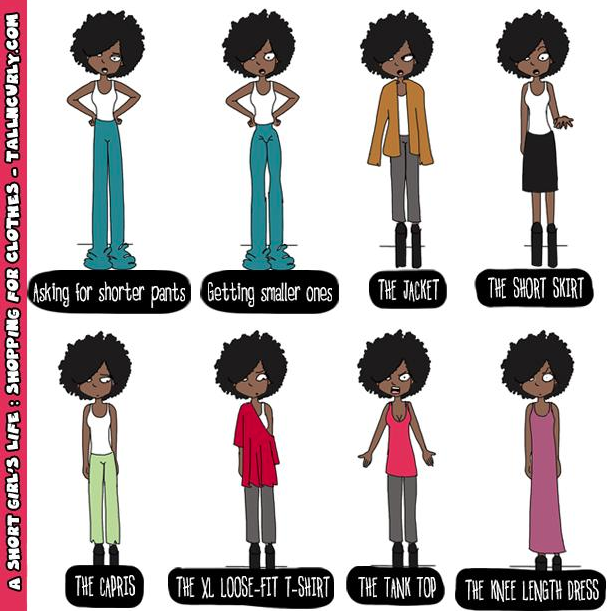 Tall N Curly - A short girl's life: shopping for clothes