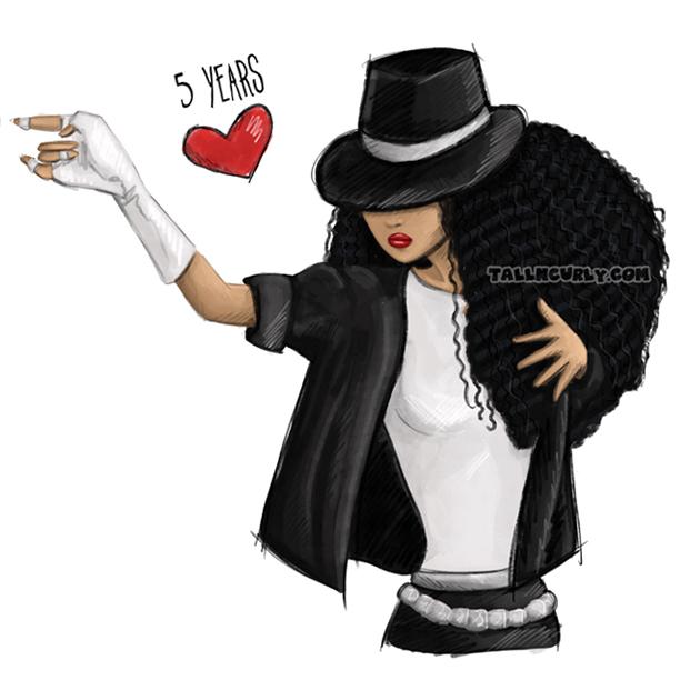 Tall N Curly - Michael Jackson 5 years already