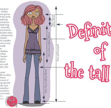 Definition of The Tall Girl