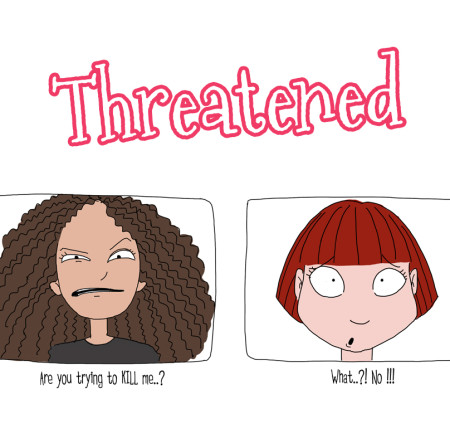 Curly Kinky Hair Business : Threatened