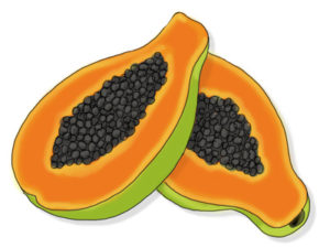 Tall N Curly - For healthy hair, eat papaya