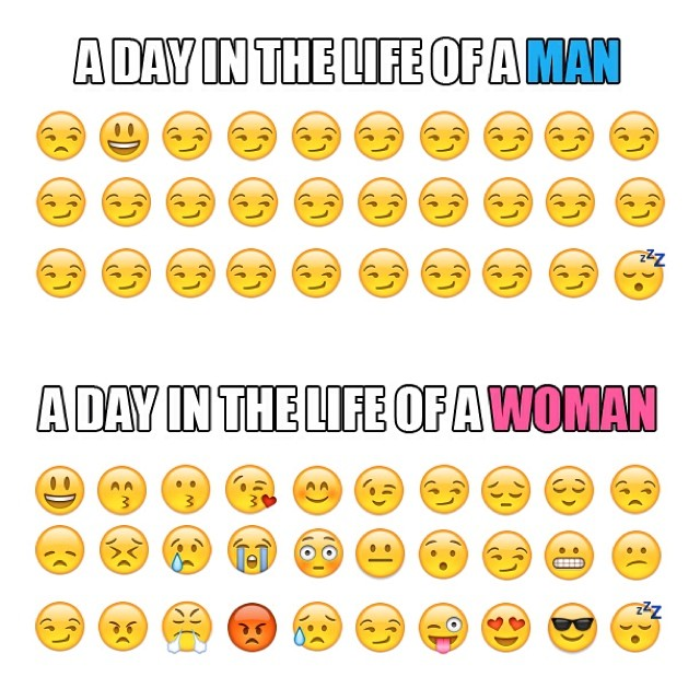 Men vs women ;)