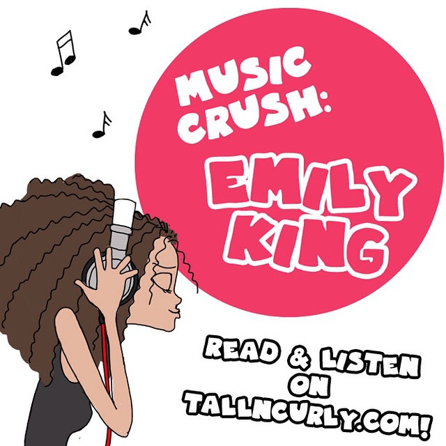 Read, listen to and ENJOY my Music Crush of today : the folk/soul wonder #EmilyKing on tallncurly.com, link in profile ;)