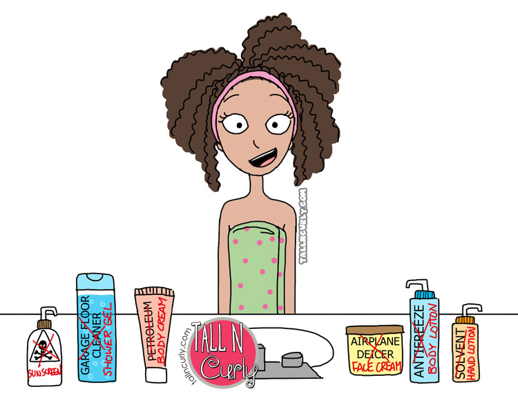 Tall N Curly - Can you trust your skin care products?