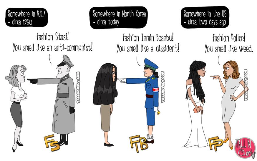 Tall N Curly - Fashion Police Zendaya