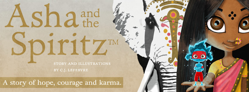 Asha and the Spiritz™ - A story of hope, courage and karma