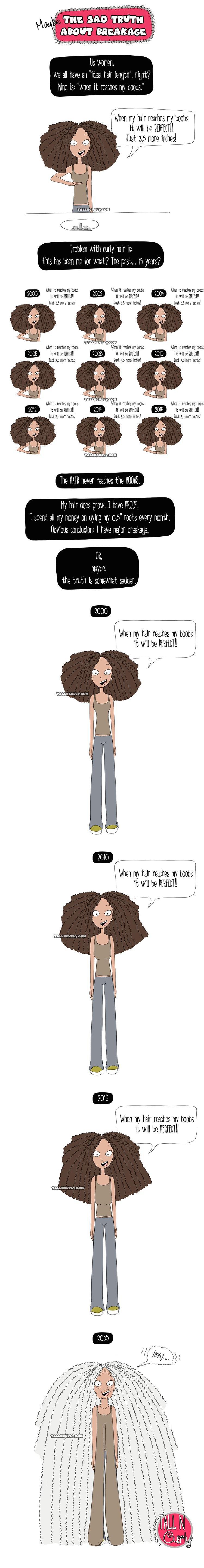 Tall N Curly - Breakage