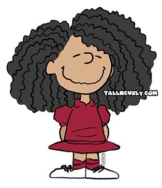 Tall N Curly - Peanut #stylechallenge