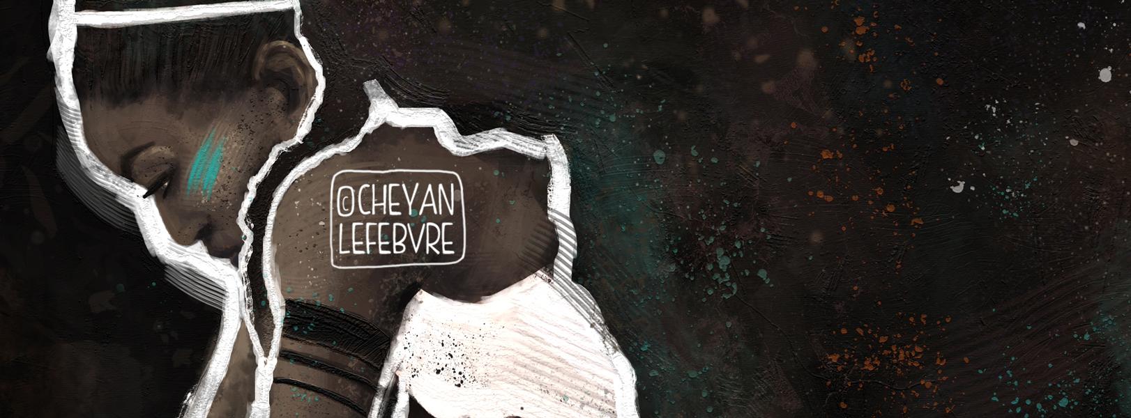 Cheyan Lefebvre - Africa Thinking #drawing #illustration #digitalart #art #painting #digitalpainting #africa #african #goddess #black #naturalhair #curlyhair #afro #bighair
