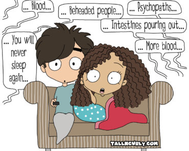Tall N Curly - Netflix #comicstrip #webcomic #comic #cartoon #nextflix #tallncurly