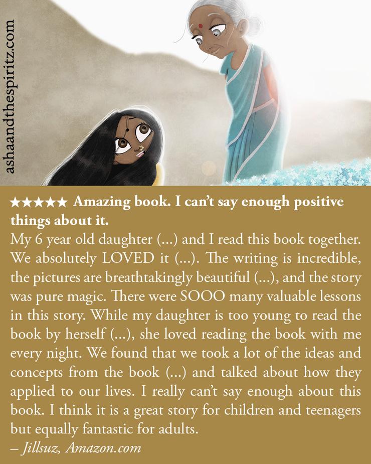 Asha and the Spiritz - #book #books #booksforchildren #booksforkids #childrenbooks #read #reading #novel #christmas #christmasgifts #karma #spirituality #illustrated #illustration #tallncurly #selfempowerment #enlightenment #goodreads #booklover