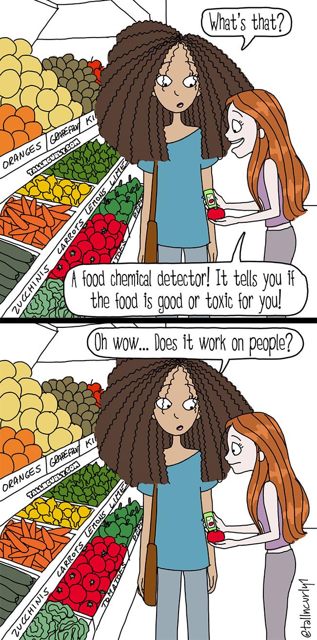 tallncurly.com #comic #comics #webcomic #comicstrip #toxic #food #relationships #friendships #family