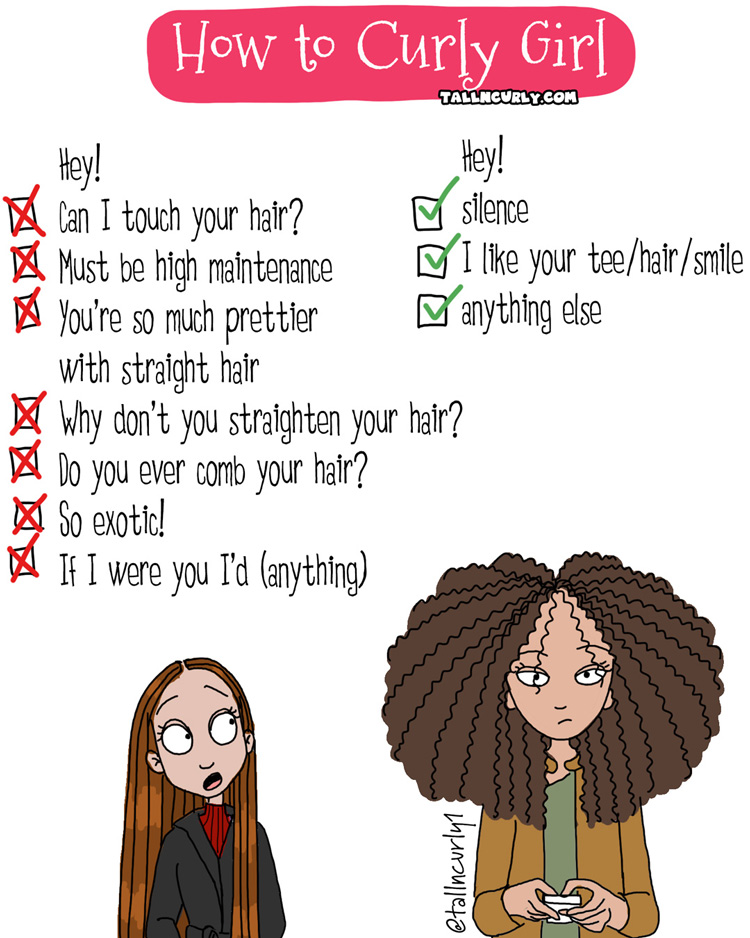 Tall N Curly - #tall #tallgirls #tallgirl #tallwomen #tallpeople #curlygirls #curlyhair #naturalhair #blackhair #selflove #comics #curls #comicstrip #cartoon #tallncurly #curls #afro #locs #webcomic #humor #comic