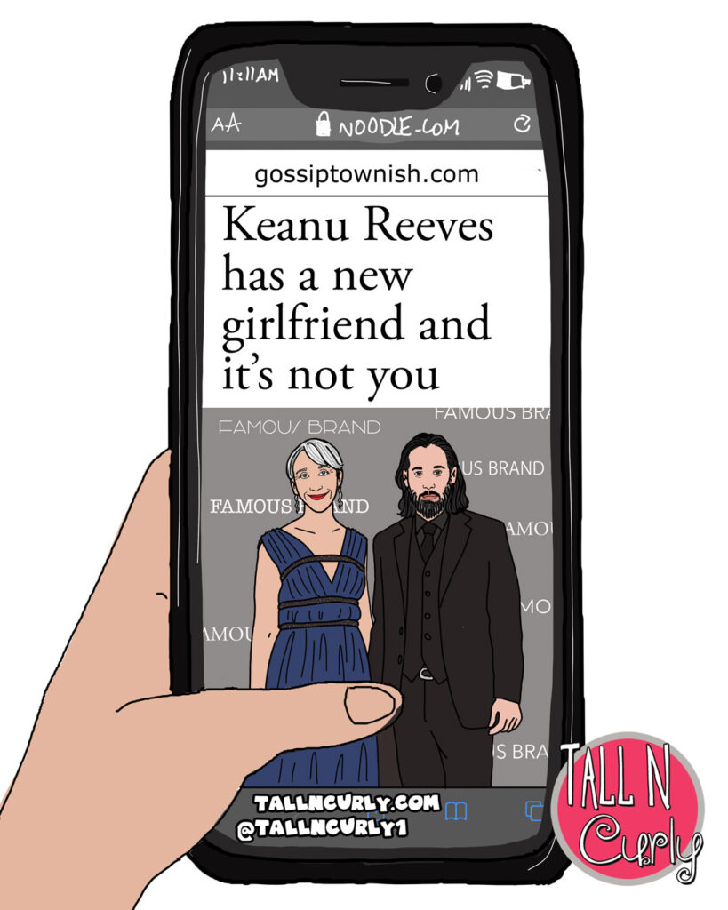 Keanu Reeves has a new girlfriend